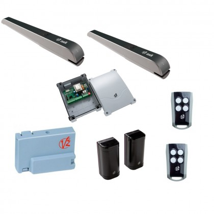 V2 Axil 29F007 230V ram kit with digital control for swing gates up to 2.8m
