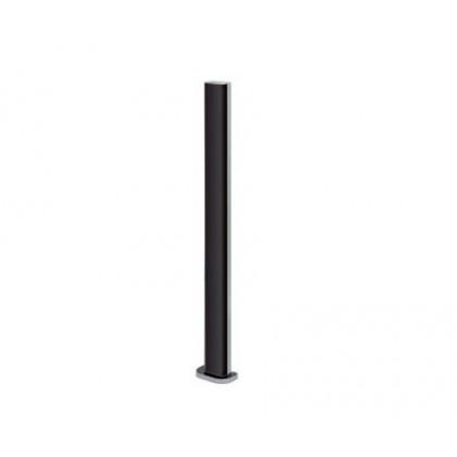 V2 GARDO50 pair aluminium pillars for photocells 50cm height